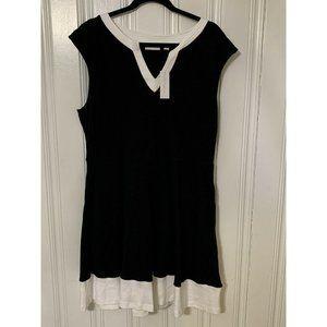 New York & Company Black, Sleeveless Mini Dress XL